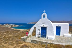 Cycling in Mykonos: unique landscapes Gr Cycling's Private Tour