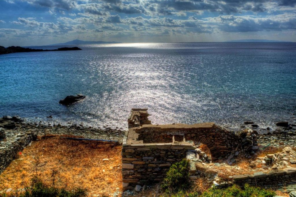 Ancient City Ruins in Paleopolis - Andros Island