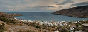 Panoramic View of Corthi Bay - Andros Island