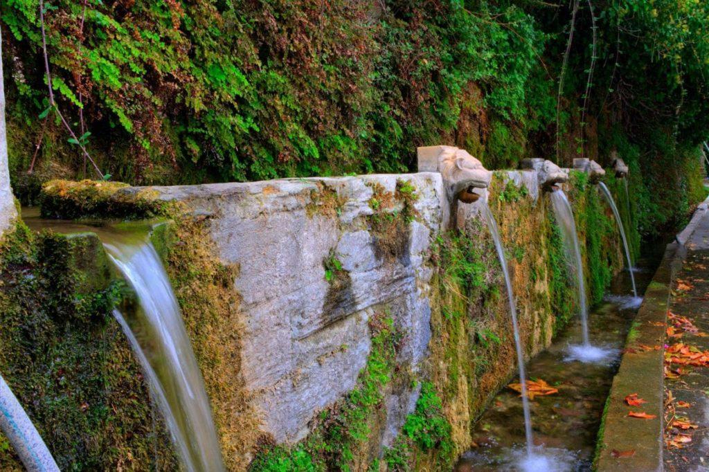 Water springs in Menites Village - Andros Island