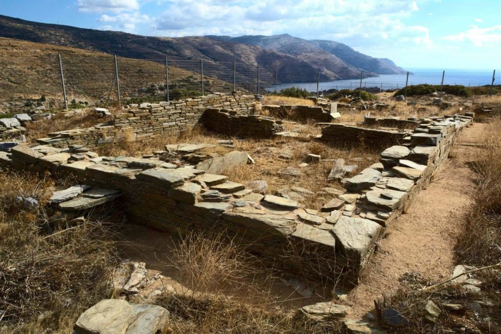 Ruins from Ancient Establishment in Zagora - Andros Island