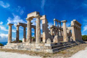 Aphaia Temple, Aegina island