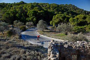 Cycling on Aegina Island