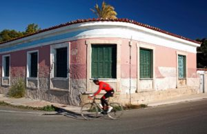 Cycling on Aegina Island