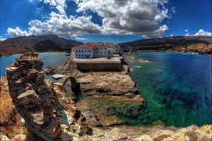 View of Chora Andros
