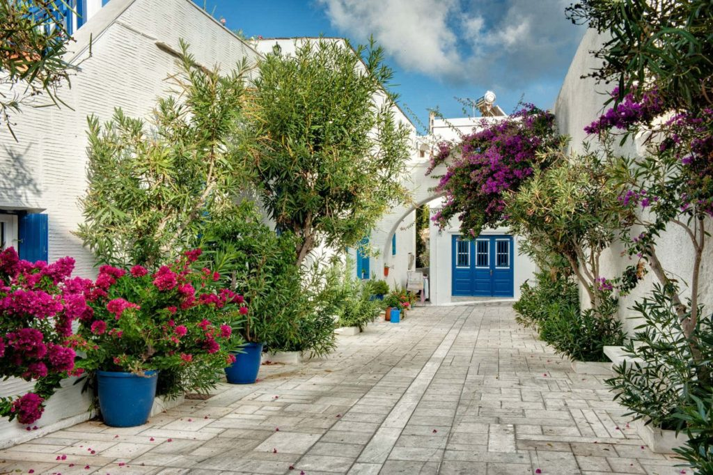 A simple beautiful corner in Pyrgos Village