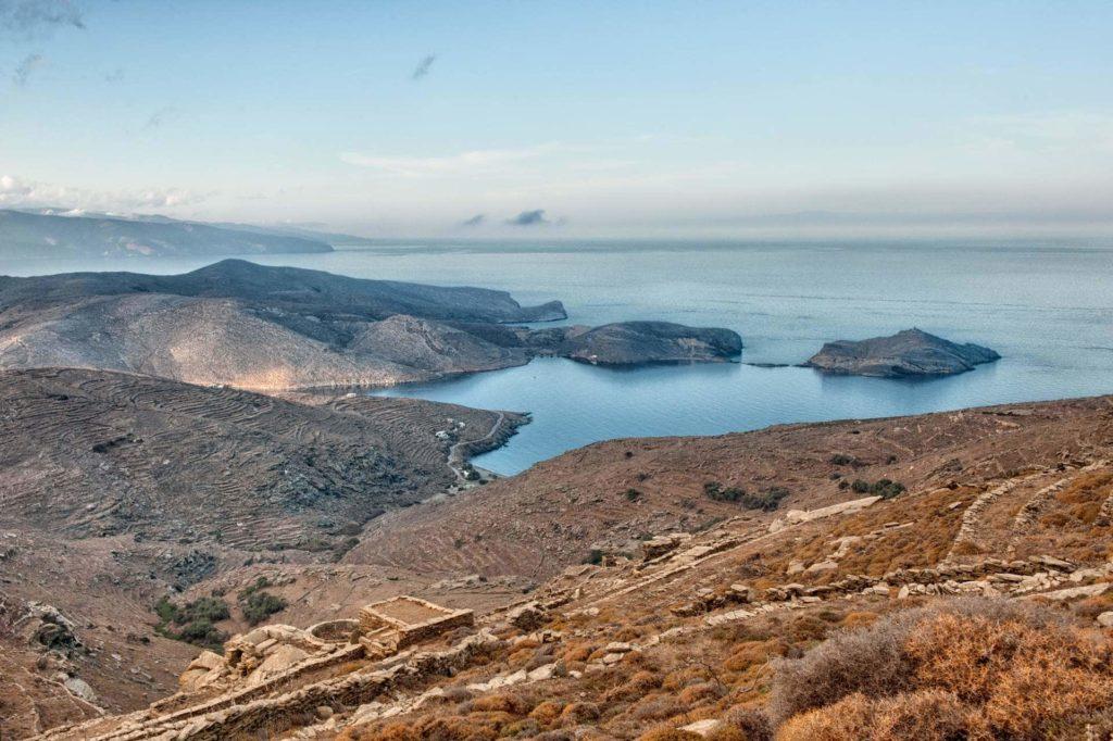 Panormos bay and Planitis isle - Tinos Island