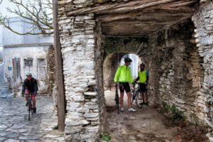 Cycling, Resting in Tinos Island - Steni Village