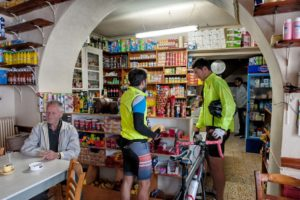 Re-fueling, resting, in Steni Village - Tinos Island
