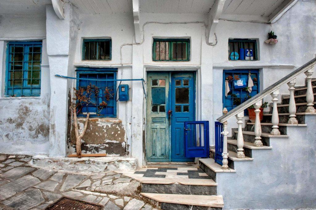 Street View Steni Village - Tinos Island