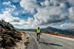 Cycling through Volax area - Tinos Island
