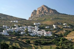 Village under Exomvourgo - Tinos Island