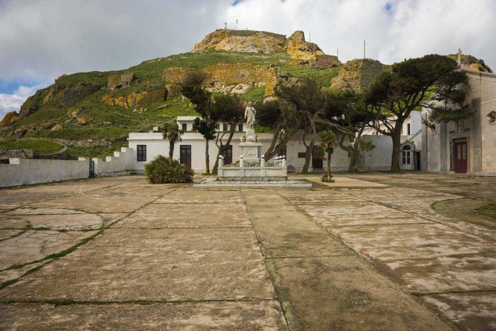 Monastery under Exomvourgo - Tinos Island
