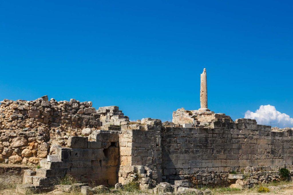 Achaeological Site of Kolones - Aegina Island