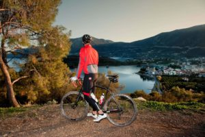 Cycling through the area of Ancient Epidaurus