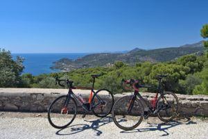 Cycling in Aegina - GrCycling