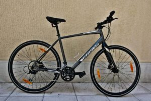 Bike Rentals in Athens - Alloy Carbon Fitness Bicycle - Specialized Sirrus 2017