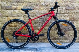 Bike Rentals in Athens - Alloy Suspension Mountain Bike Fitness Bicycle - Specialized Crosstrail 2017