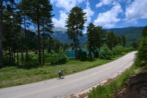 Cycling in Peloponnese Doxa Lake by GrCycling