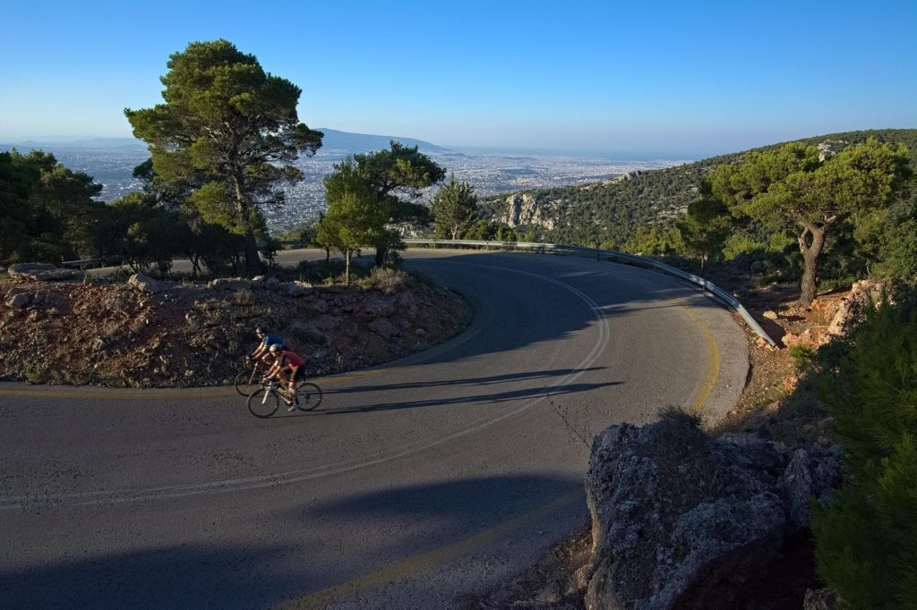 Mt. Parnitha - A superb climb to the top - Road Cycling in Athens by GrCycling