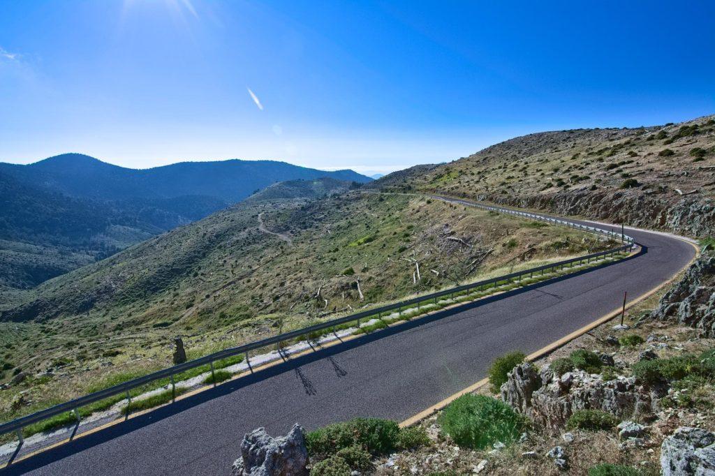 Climbing on mt Parnitha - Gr Cycling Athens