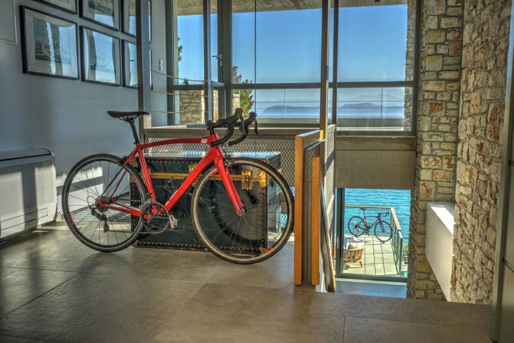 Photos of a bike friendly luxury hotel