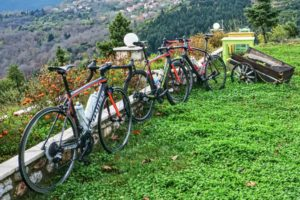Cycling in Leonidio (Peloponnese, Greece)