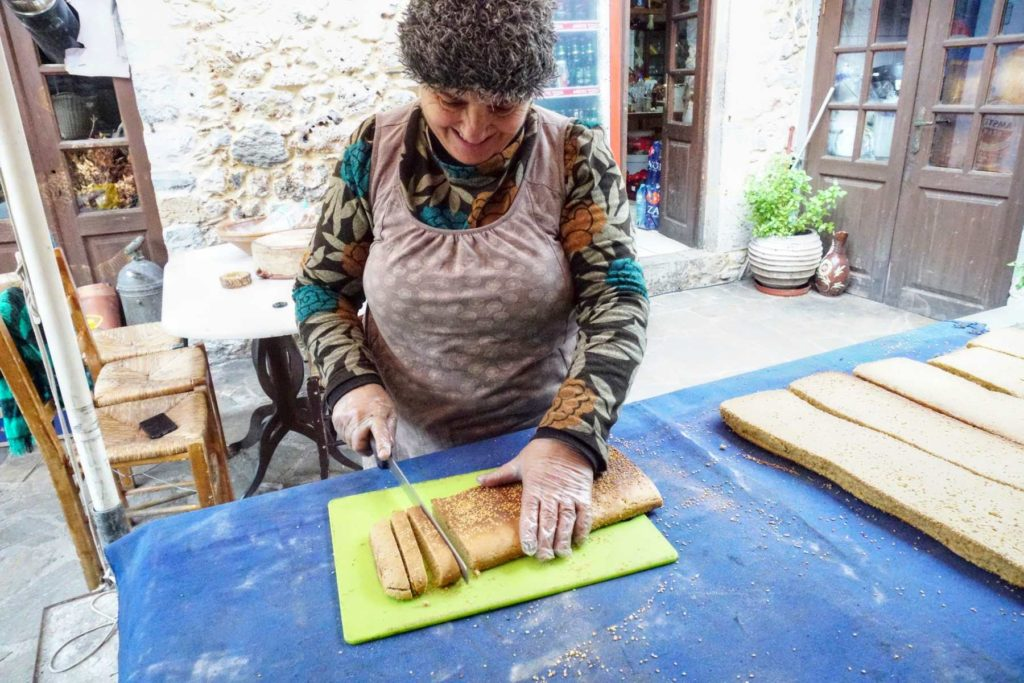 Fresh Cookies during our cycling day in Leonidio, Peloponnese