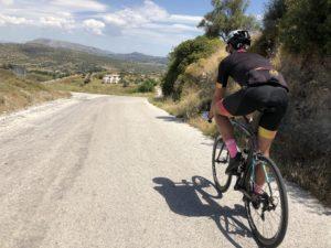 Cycling around Porto Rafti, Kalivia, Keratea and Lavrio