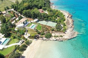 Magnificent Blue Villas Porto Heli Aerial View