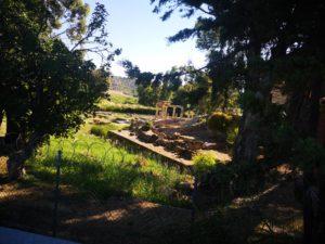 Ancient Temple in Porto Rafti