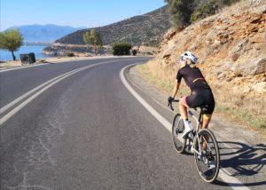 Cycling from Xiropigado, Peloponnese, Greece
