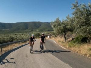Cycling in Xiropigado, Peloponnese
