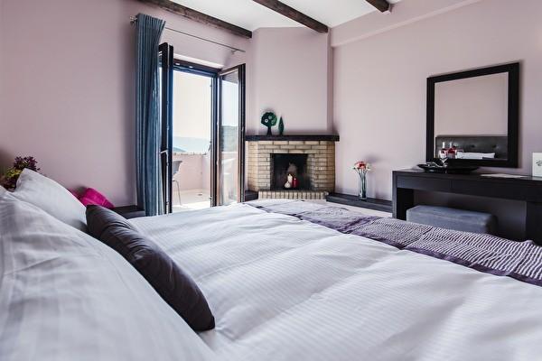 Bedroom view at perivoli hotel