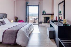 Bedroom view from Perivoli hotel