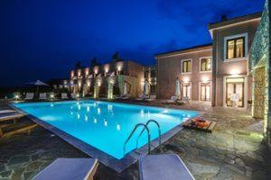 Pool View of Perivoli Hotel