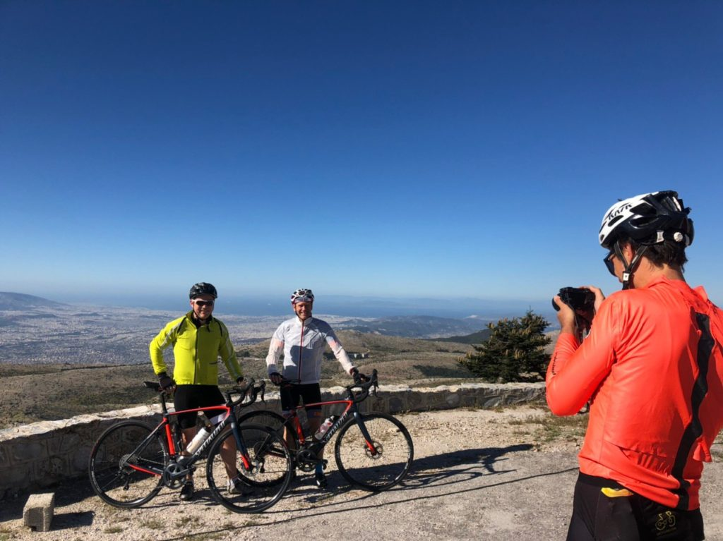 Cycling from Kifisia to Mt. Parnitha