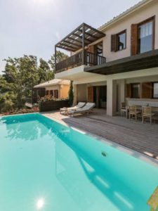 Cycling and bicycle rentals options at Villa Scorpios, in Paleros Greece