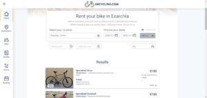 Rent a bike booking engine