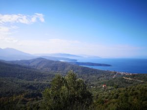 Cycling in Pelion offers a spectacular landscapes