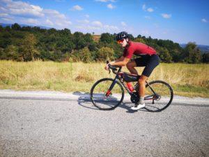 Cycling is biking around the mt Olympus