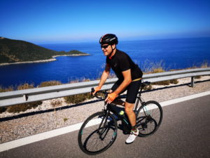 Cycling along the heaven roads of Peloponnese