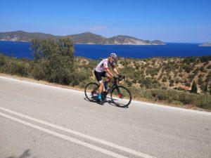 Cycling along the coast in Porto Cheli and Epidaurus